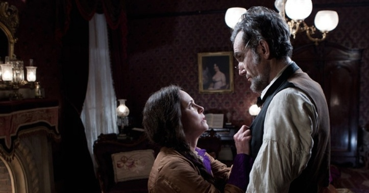 Sally Field and Daniel Day-Lewis Lincoln