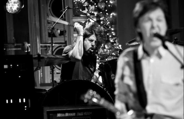 Paul McCartney Dave Grohl Sound City