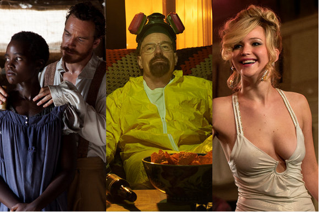 12 Years a Slave, Breaking Bad, Trapaça