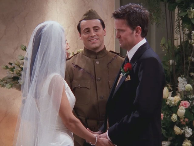Friends S07E23-24 The One with Monica and Chandler's Wedding