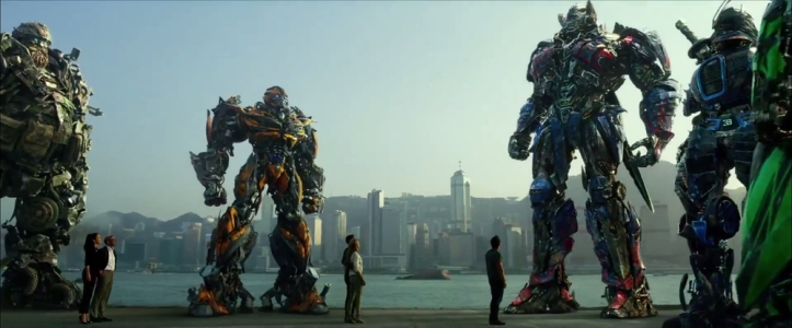 Transformers age of extinction ending