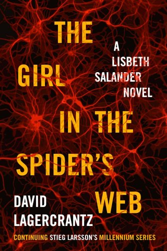 Capa do livro The Girl in the Spider's Web