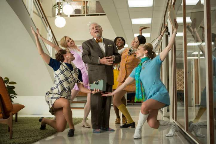 Robert Morse as Bertram Cooper - Mad Men _ Season 7, Episode 7 - Photo Credit: Justina Mintz/AMC