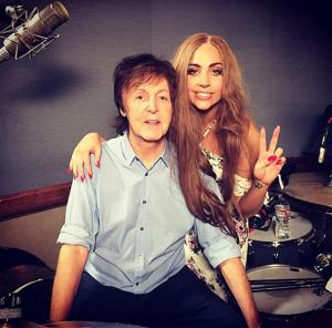 Paul McCartney Lady Gaga