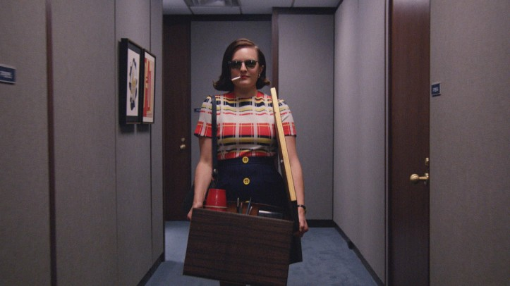 Elisabeth Moss (Mad Men) - season 7.2