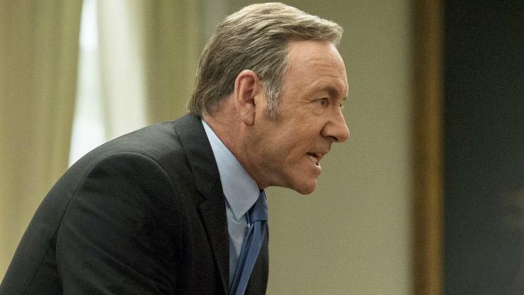 Kevin Spacey (House of Cards) - season 3
