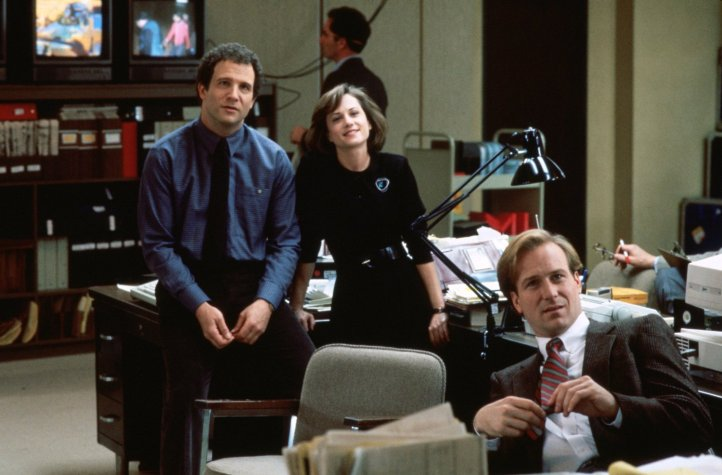 Direção: James L. Brooks | Elenco: William Hurt, Albert Brooks, Holly Hunter