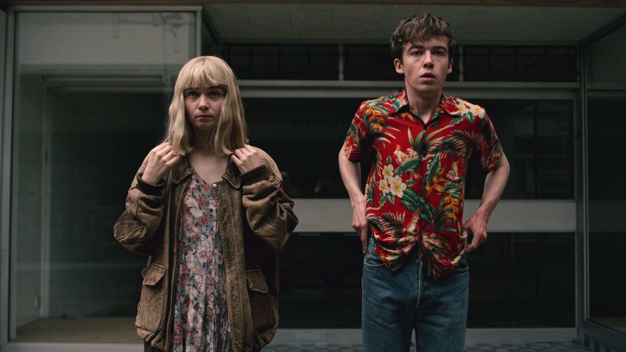 Resultado de imagem para the end of the f *** ing world